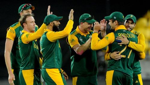 South Africa at the 2015 world cup