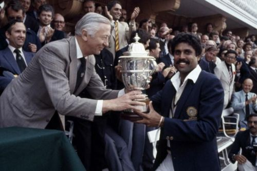 Kapil Dev won the maiden World cup for India