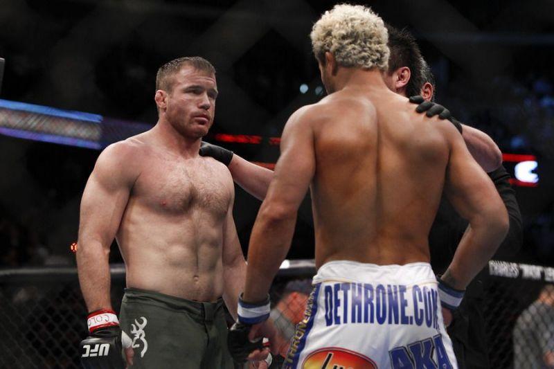 Matt Hughes faced Josh Koscheck in his final MMA fight