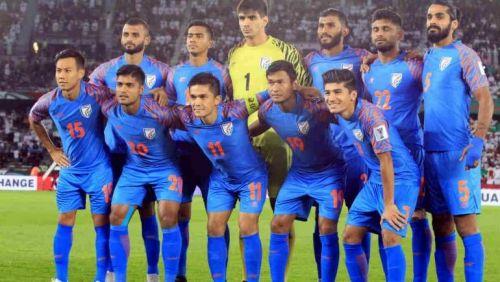 India's Starting XI against Thailand