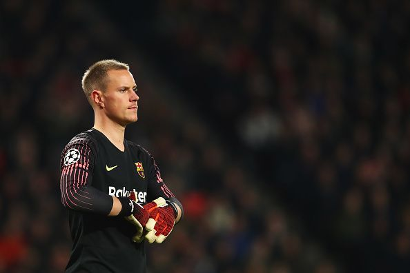 In summer 2016, ter Stegen was Guardiola