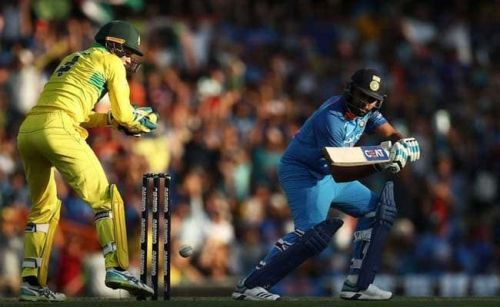 India began the series with a loss