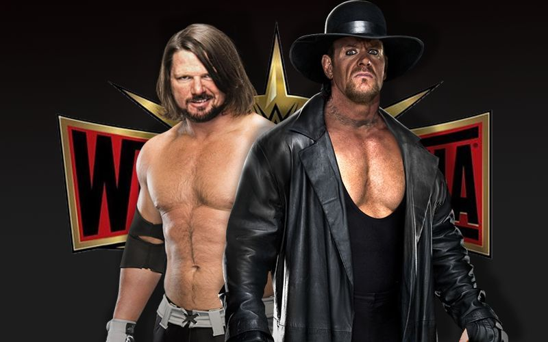 Will we see AJ Styles versus The Undertaker at Wrestlemania?