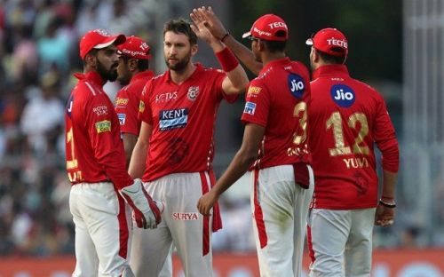 Andrew Tye was exceptional for the Kings in IPL 2018