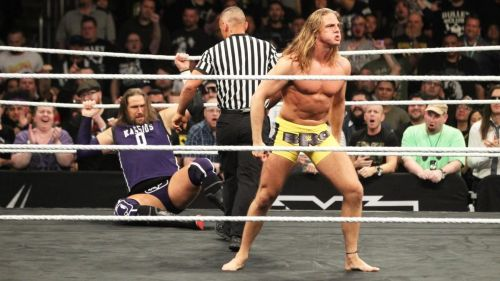 Matt Riddle following his historic win over Kassius Ohno