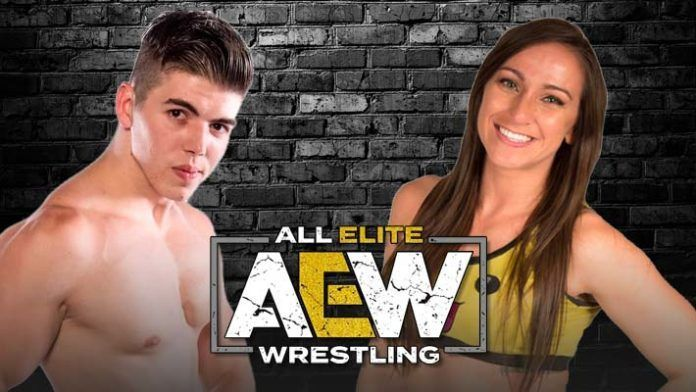 Independent wrestlers Sammy Guevara and Kylie Rae might be joining AEW soon.