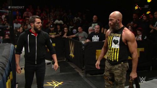 Ciampa and Gargano continued to tease Heel-IY