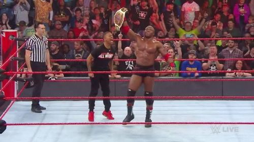 The current Intercontinental champion Bobby Lashley