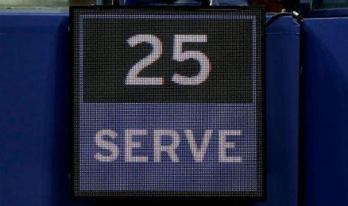 Serve Clock