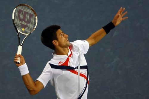 Djokovic served exceptionally well yesterday