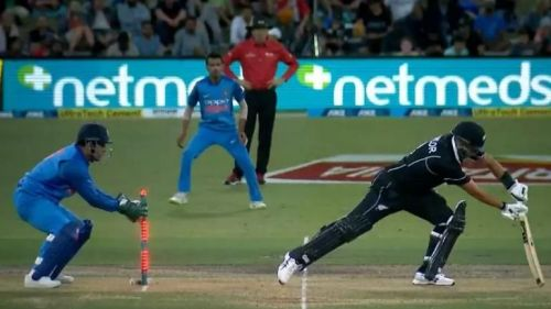Image result for ms dhoni stumping ross taylor