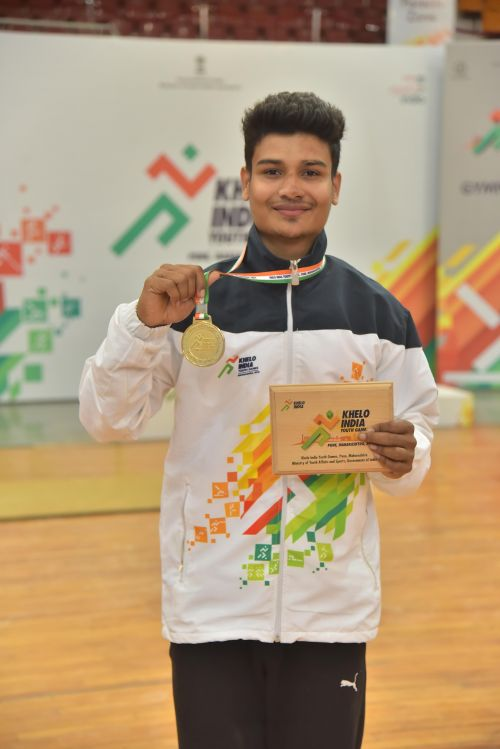 Arik Dey at Khelo India Youth Games