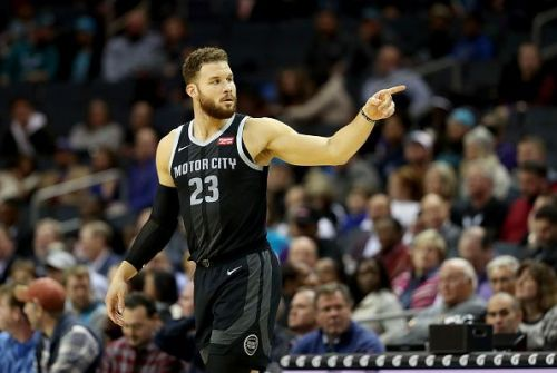 Griffin has excelled this season for an improving Pistons side