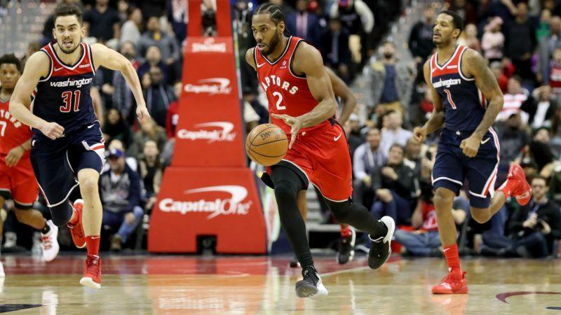f8865b2f3de Leonard scores 41 as Raptors top Wizards in double OT