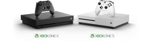 Image result for xbox one s and xbox one x