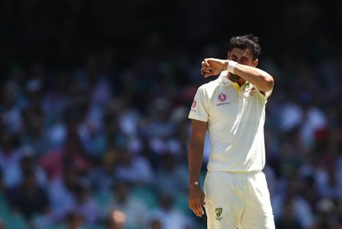 Mitchell Starc has been struggling of late