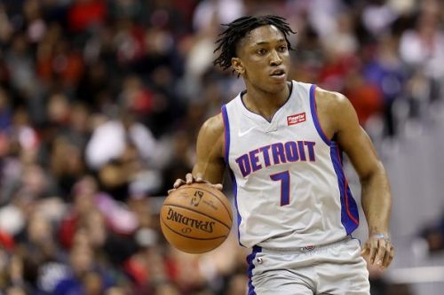 Detroit Pistons v Washington Wizards