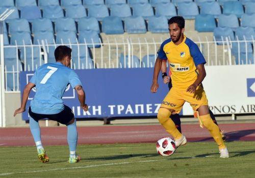 Musa Suliman Al-Taamari of Jordan playing for APOEL (Image Courtesy: APOEL FC)