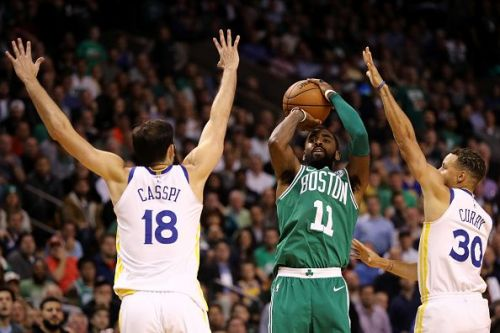 Kyrie Irving is averaging 23.5 points, 4.8 rebounds and 6.9 assists this season