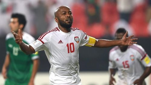 Ismaeil Matar is the most capped player in the UAE side