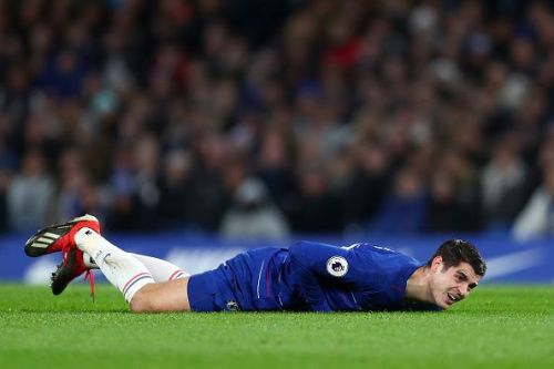 Chelsea's current strikers like Alvaro Morata are struggling for goals