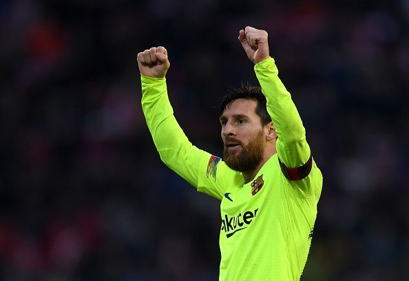 Girona could not handle Messi