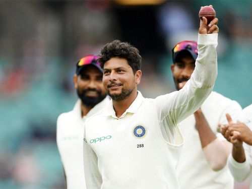 Kuldeep Yadav bagged a fifer in his maiden Test appearance in Australia