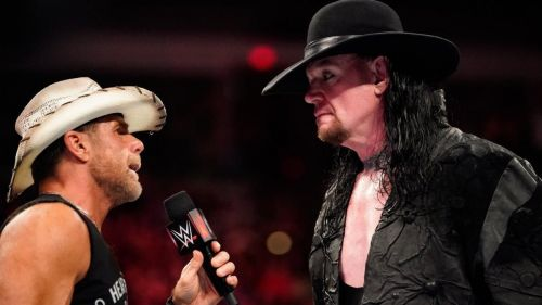 Shaun and Undertaker don't like retiring.