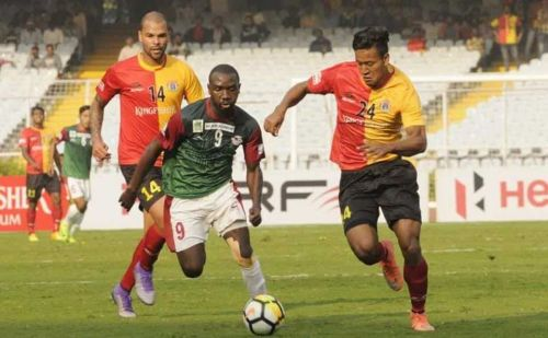 Dipanda Dicka scored a brace to demolish East Bengal in the return leg of the 'Kolkata Derby' last season