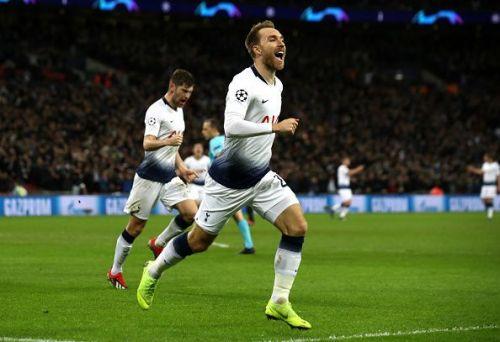 Tottenham Hotspur v FC Internazional, UEFA Champions League, Wembley Stadium.