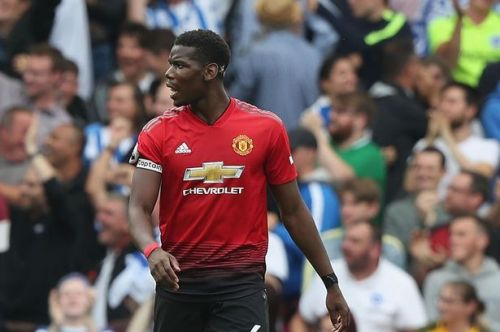 Paul Pogba could move to Spain in the future.