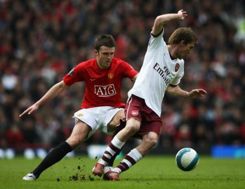 Hleb represented Arsenal between 2005 and 2008