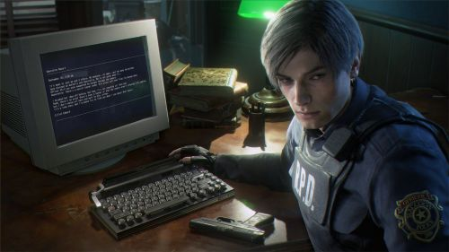 Leon in RE 2 Remake