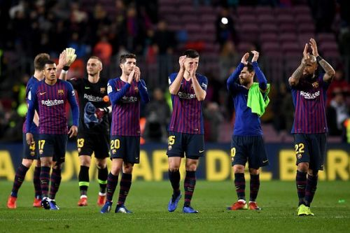 Barca eased to victory