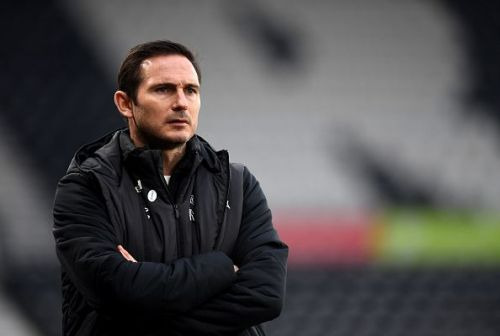 Frank Lampard is cutting his teeth in management outside of the Premier League at Derby County