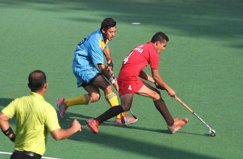 Odisha v Uttar Pradesh - Boys U21 hockey semifinal at Khelo India Youth Games