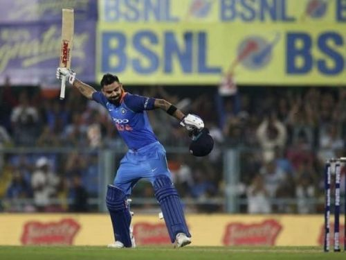 Consistent Batsman virat Kohli