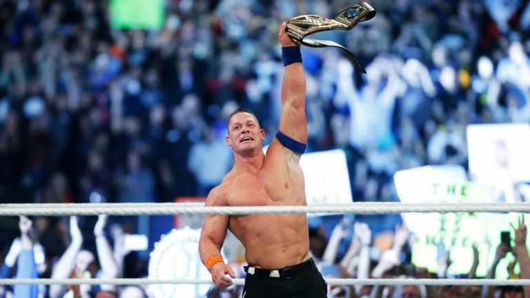 John Cena won his 16th world title at Royal Rumble.