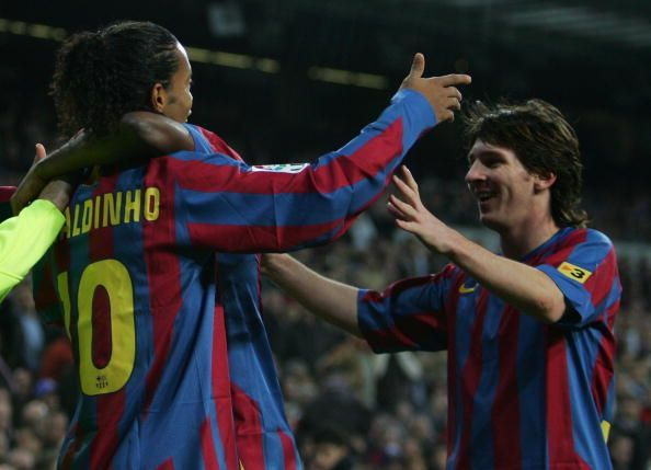 Ronaldinho was his mentor at the early stages of his career
