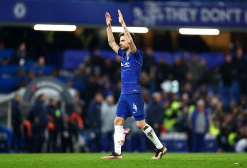 A tearful Fabregas leaving the pitch