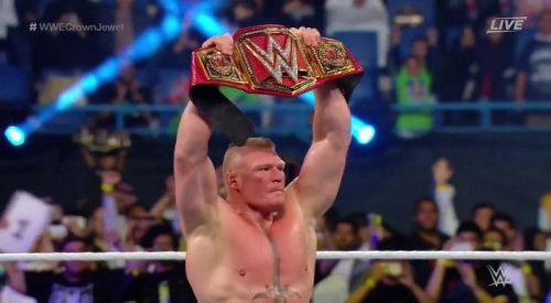 Brock Lesnar, the Beast Incarnate, is the current WWE Universal Champion.