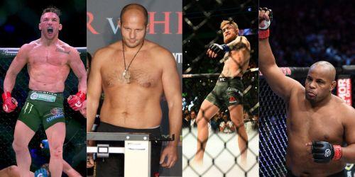 The best of Bellator MMA vs. the best of UFC