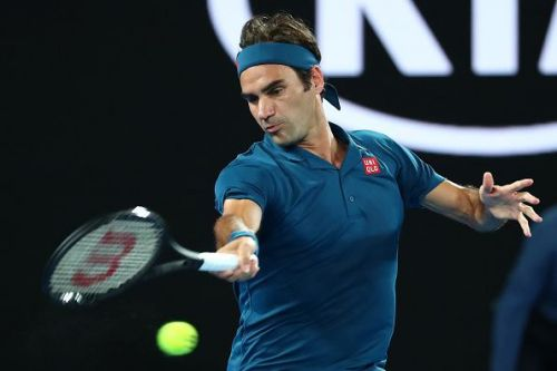 Federer was on cruise control as he eased past Istomin