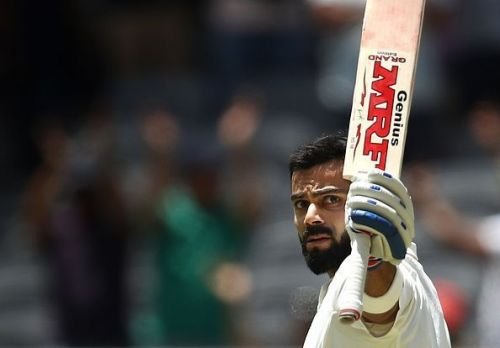 A fighting hundred by Virat Kohli in tough conditions