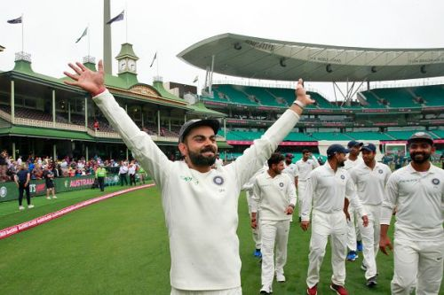 Virat Kohli swept the awards