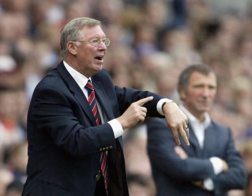 Ferguson was always on the neck of referees while he was Man United manager