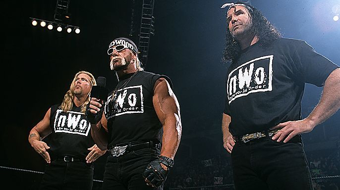The nWo debut in WWE as a group to take out Stone Cold