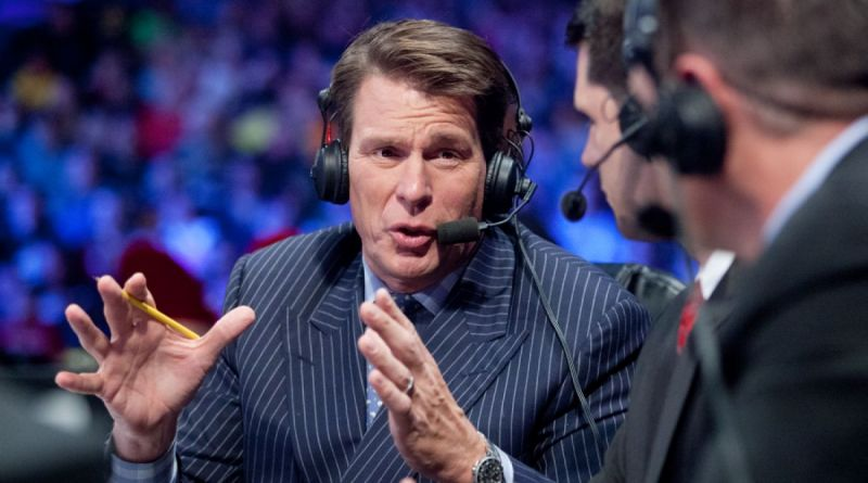 JBL bears the scars of his wrestling days