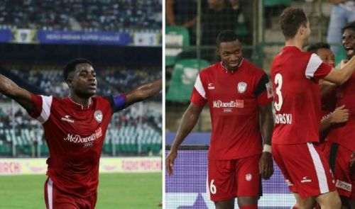 Ogbeche was the saviour for NorthEast United FC (Image Courtesy: ISL)