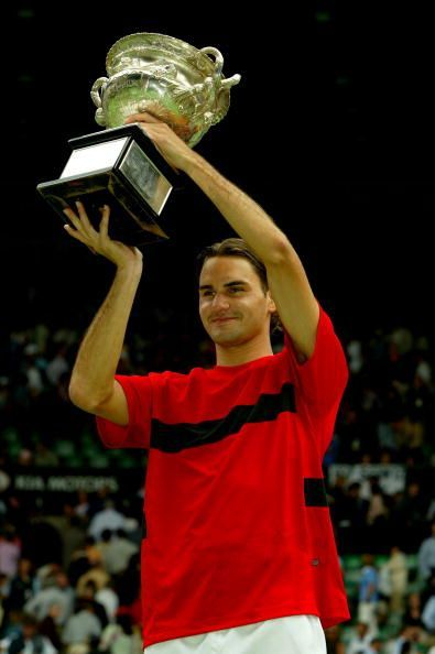 A young Federer - Australian Open (2004) champion